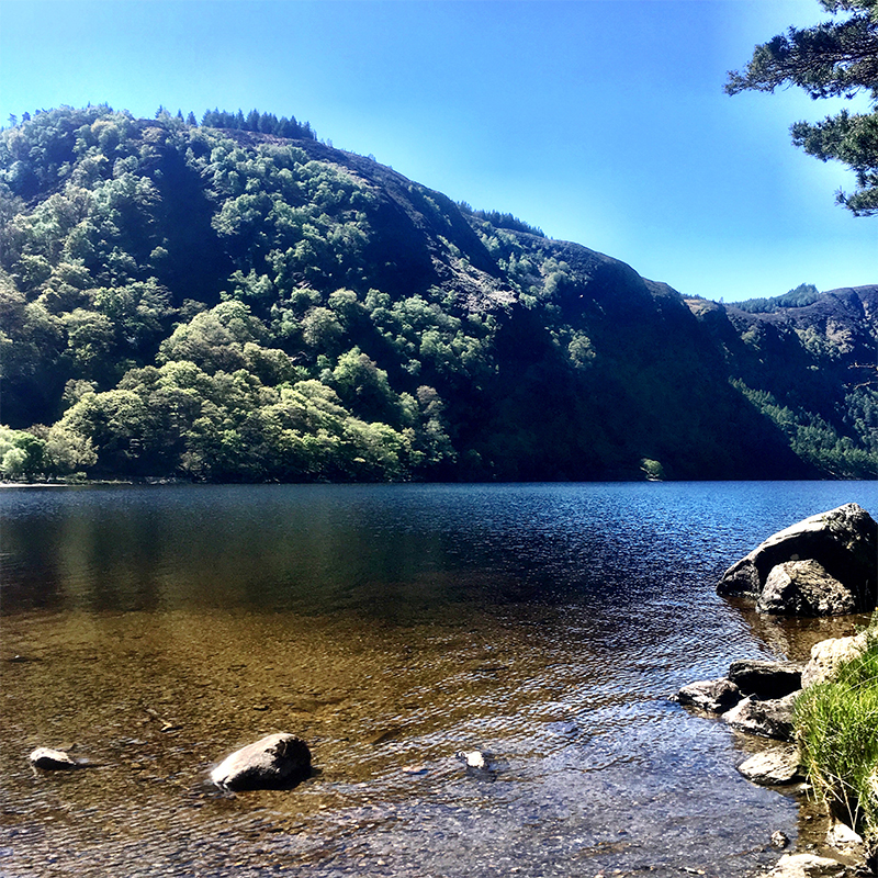 Glendalough Lake, Co Wicklow